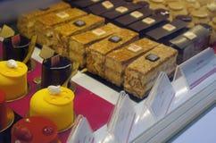 鲜美个人蛋糕在Sarona市场,特拉唯夫上 库存照片