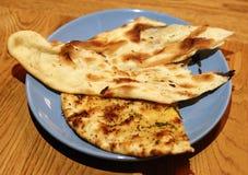 鲜美印地安小面包干 免版税库存照片