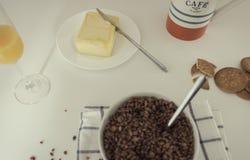 鲜美和充分的早餐 库存图片