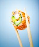 鲜美寿司卷 免版税库存图片