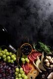 鲜美开胃意大利地中海食品成分舱内甲板位置 免版税库存照片
