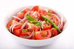 鲜美开胃菜新鲜的蕃茄沙拉 图库摄影