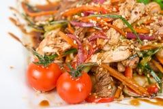 鲜美开胃菜的肉 库存图片