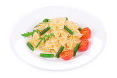 鲜美意大利的意大利面食 免版税库存图片