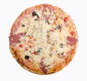 鲜美意大利的薄饼 库存图片