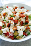 鲜美新鲜的健康的沙拉 库存图片