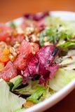 鲜美新鲜的蔬菜沙拉 免版税图库摄影