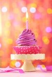 鲜美杯形蛋糕 图库摄影