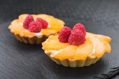 鲜美果子果子馅饼用莓 图库摄影