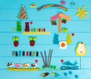 鲜美果冻糖果的图片以熊,母牛, stra的形式 库存照片