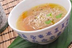 鲜美清淡的大酱汤非常 免版税库存照片