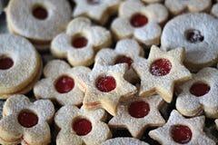 鲜美甜饼干 免版税库存照片
