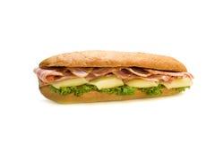 鲜美的三明治 免版税库存图片