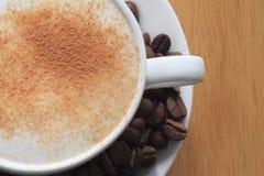 鲜美的咖啡 免版税库存照片