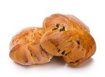 鲜美的小圆面包 库存照片