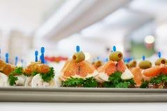 鲜美的开胃菜 免版税库存图片