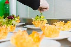 鲜美的开胃菜 库存照片