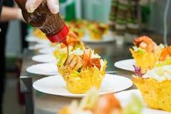 鲜美的开胃菜 免版税图库摄影