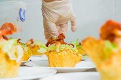 鲜美的开胃菜 库存图片