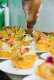 鲜美的开胃菜 免版税库存照片