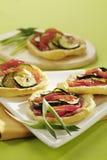 鲜美的开胃菜 图库摄影