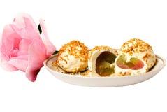 鲜美的快餐 免版税库存照片