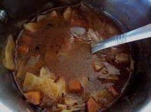 鲜美的汤 免版税库存图片