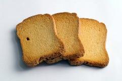 鲜美的面包干 库存图片