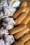 鲜美的饼干 免版税库存照片