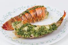 鲜美的龙虾仁 免版税库存图片
