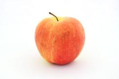 鲜美秋天苹果果子红色和黄色摄影 库存图片