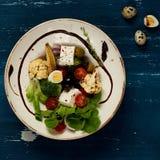 鲜美素食沙拉 库存图片
