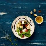 鲜美素食沙拉 库存照片