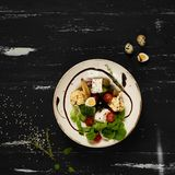 鲜美素食沙拉 免版税库存图片