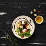 鲜美素食沙拉 免版税图库摄影