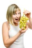 鲜美葡萄 库存照片