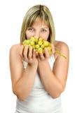 鲜美葡萄 免版税库存照片