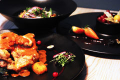 鲜美食物 免版税库存图片