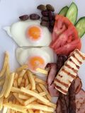 鲜美食物 免版税库存照片