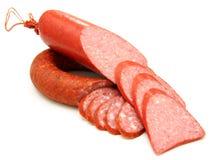 鲜美香肠 免版税图库摄影