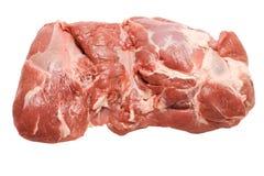 鲜肉片猪肉 免版税库存图片