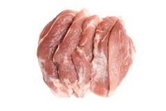 鲜肉猪肉 免版税库存图片