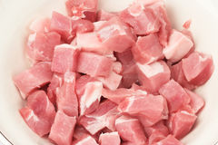 鲜肉猪肉 图库摄影