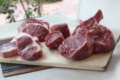 鲜肉 库存照片