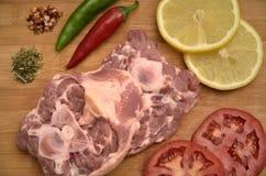 鲜肉 免版税库存图片