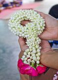 鲜花花圈  库存图片