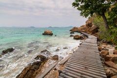 鲜绿色海岛 免版税库存图片