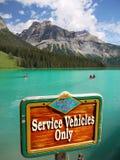 鲜绿色湖,不列颠哥伦比亚省,加拿大 库存照片