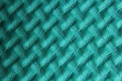 鲜绿色的泡沫席子 免版税图库摄影
