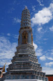 鲜绿色菩萨寺庙  免版税图库摄影